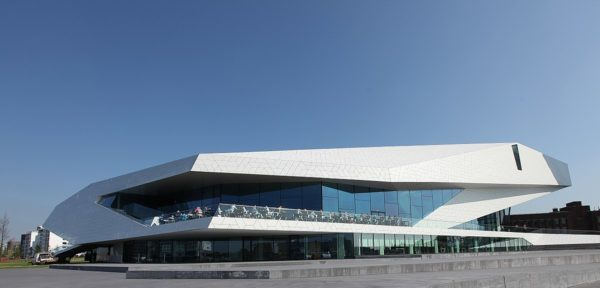 The EYE Film Institute Netherlands by Rick Ligthelm via Wikimedia CC