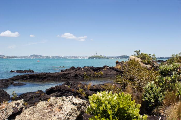 Auckland from Rangitoto Island photo via Depositphotos