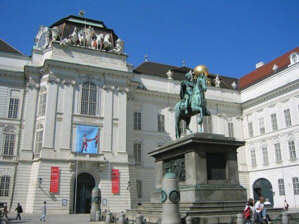 Austrian National Library by UrLunkwill via Wikipedia CC