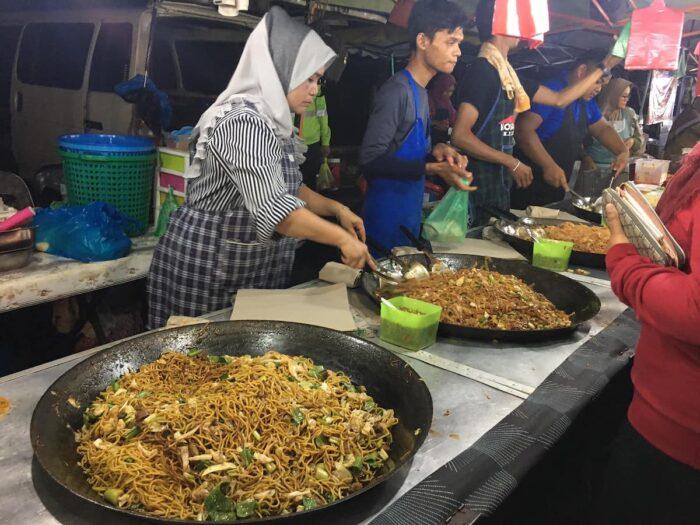 Ayer Hangat Friday Night Market photo via Facebook Page