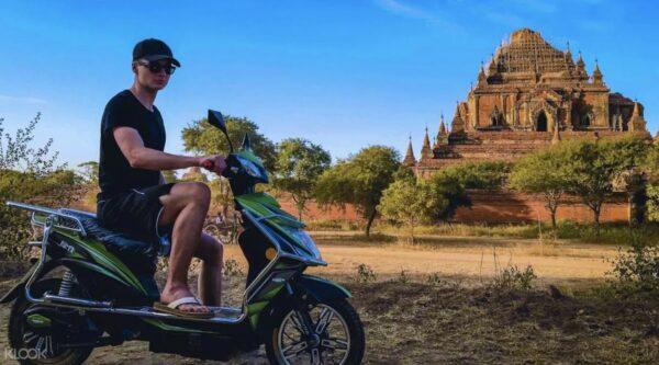 Bagan Electric Bike Tour photo via KLOOK
