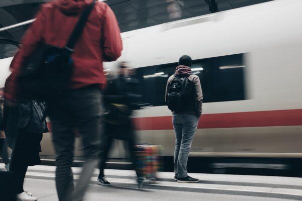 Berlin Central Station by Mike Kotsch via Unsplash