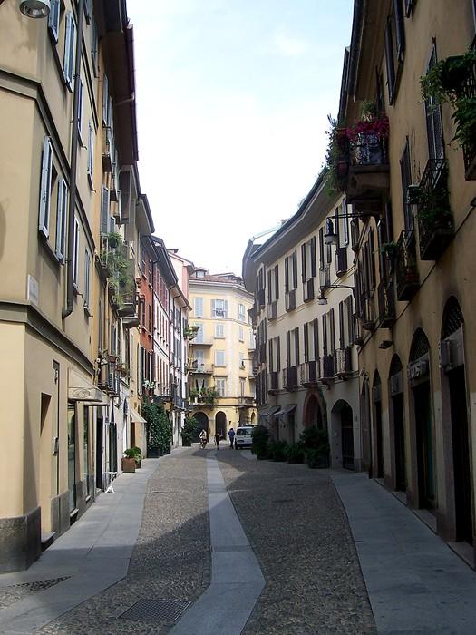 Brera District Milan by MarkusMark via Wikipedia CC