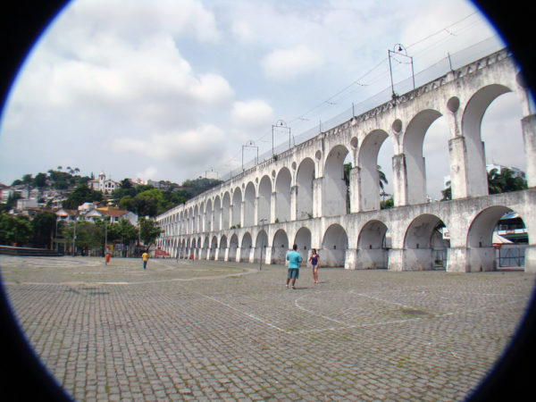 Carioca Aqueduct by Rodrigo Solon via Flickr CC