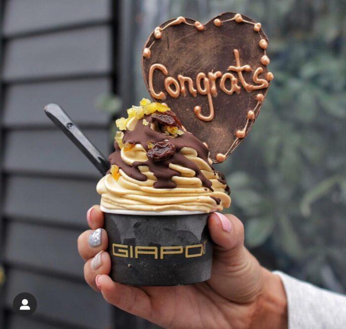 Giapo Ice Cream photo via FB Page