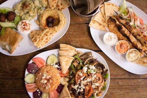 Greek Food Dinner