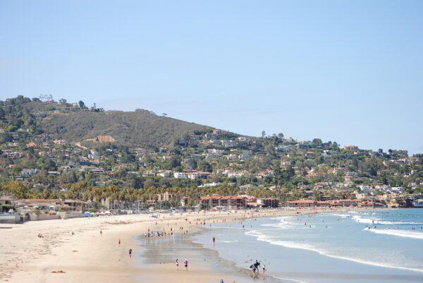 La Jolla Beach in San Diego CA