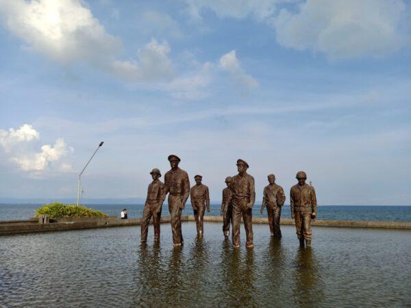 MacArthur Landing Memorial National Park in Palo, Leyte