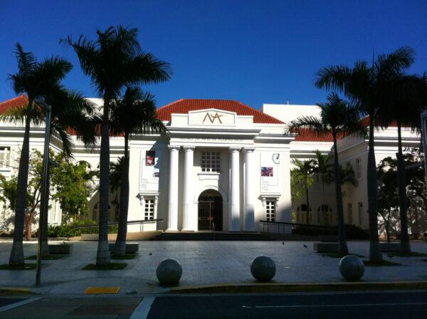 Museum of Art of Puerto Rico by Moebiusuibeom-en via Wikipedia CC