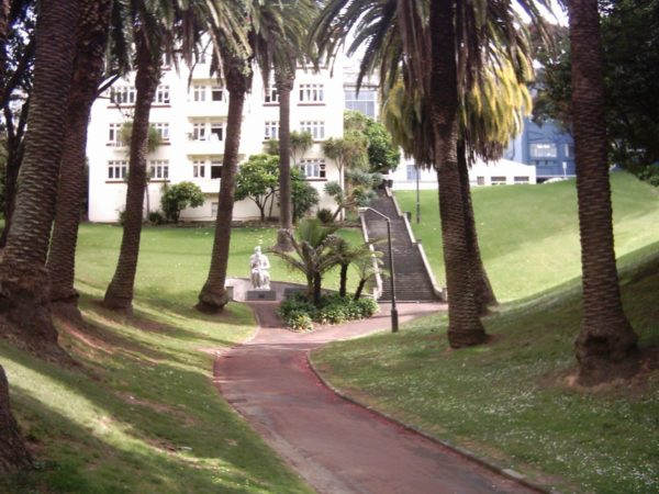 Myers Park in Auckland by Ingolfson via Wikipedia CC