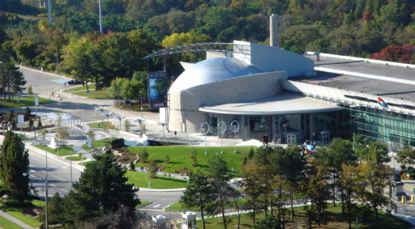Ontario Science Center by James Koole via Wikipedia CC