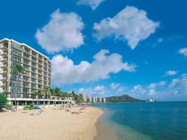 Outrigger Reef Waikiki Beach Resort near Honolulu