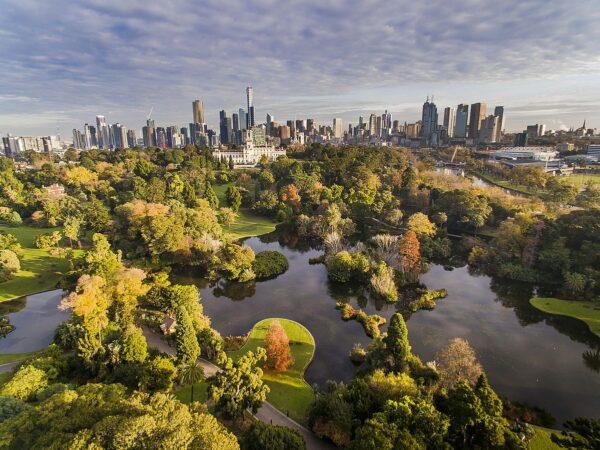 Royal Botanic Gardens Victoria photo by Adrian Vittorio via Wikipedia CC