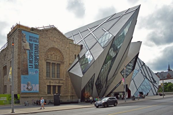 Royal Ontario Museum by Daniel MacDonald via Wikipedia CC