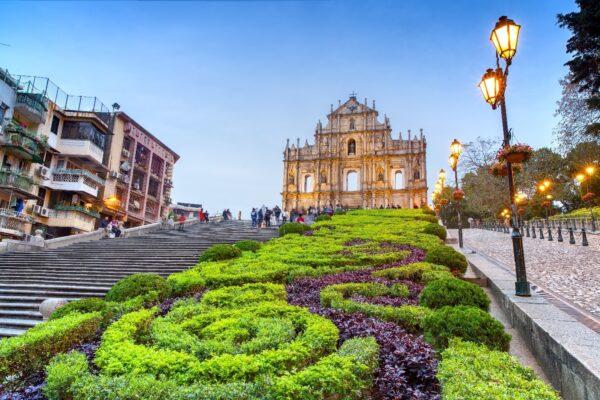 Ruins of St.Paul - Cebu Pacific Cebu-Macau Flight