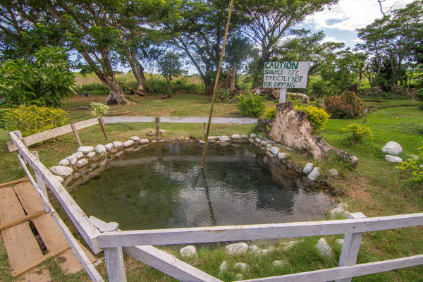 Sabeto Hot Springs and Mud Pool in Fiji photo via Wikipedia CC