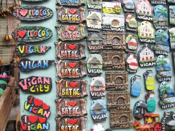 Souvenirs from Vigan