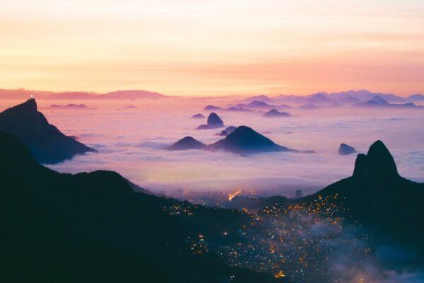 Sugarloaf Mountain Sunset by Noah Cellura via Unsplash