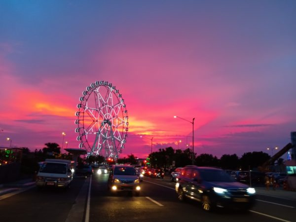 Sunset in Mall of Asia Complex