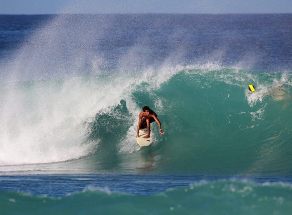 Surfing in Barbados photo by Tarik Browne via Flickr CC