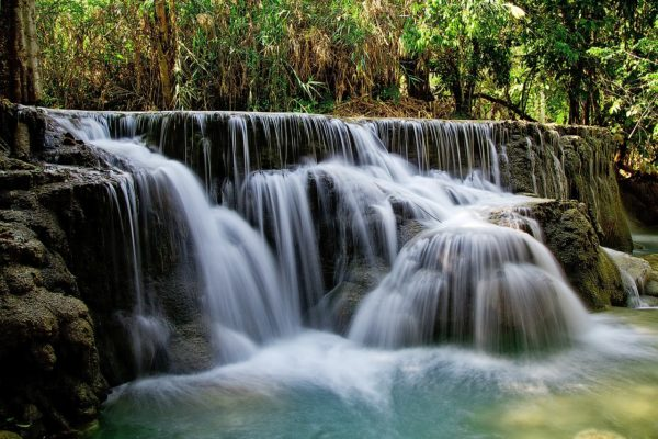 Tat Kuang Si Waterfalls in Luang Prabang
