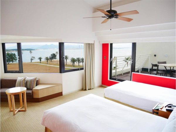 The Luigans Spa and Resort Grand Deluxe Twin Room with Balcony