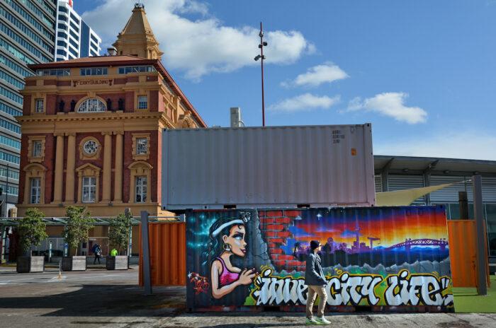 The Queens Wharf in Auckland via Depositphotos