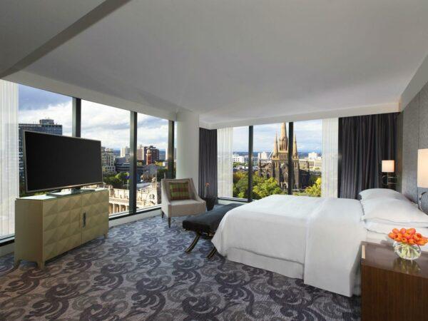 Treasury Gardens Terrace Suite Sheraton Melbourne Hotel