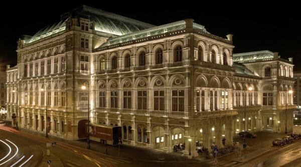Vienna State Opera House by Markus Leupold Lowenthal via Wikipedia CC