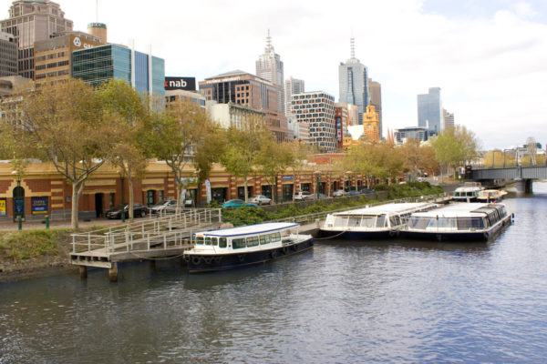 Yarra River Cruise photo by Rexness via Wikipedia CC