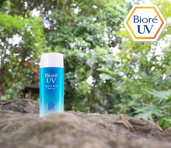 Biore Gel - sunblock for outdoor activities