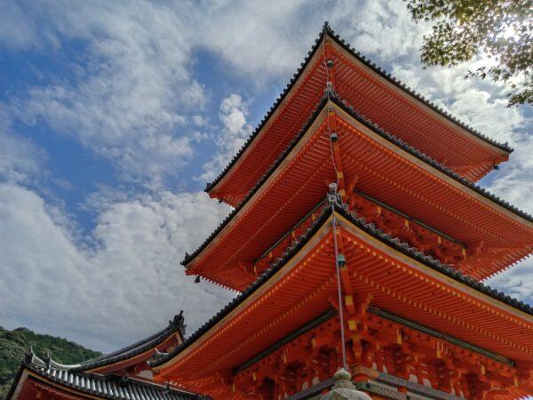 Colorful Structures at Kiyomizu-dera Temple