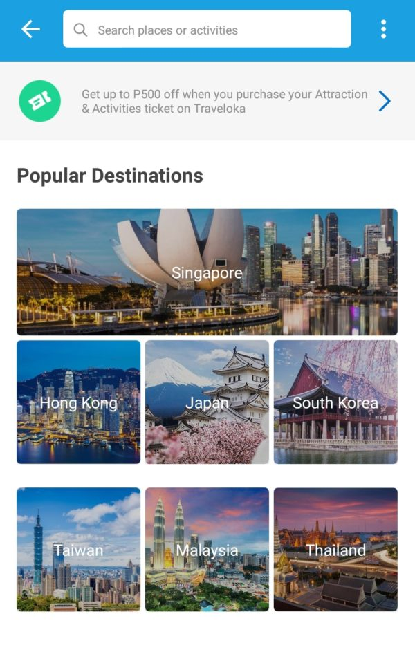 Explore these International Attractions with Traveloka