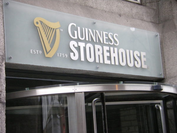 Guinness Storehouse Factory by Greatal386 via Wikipedia CC