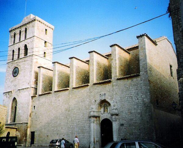 Ibiza Cathedral by Jaume Meneses via Wikipedia CC