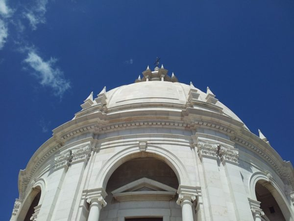 National Pantheon Dome in Lisbon