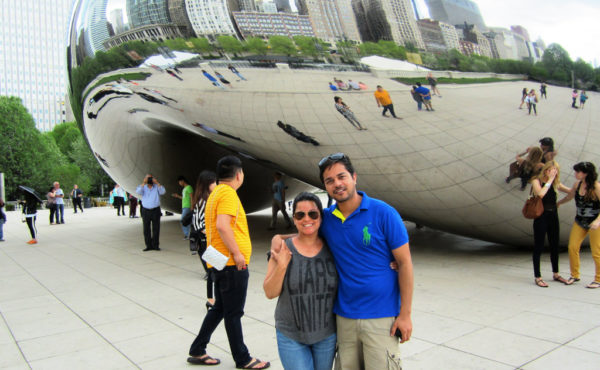 Paul and Mona in USA