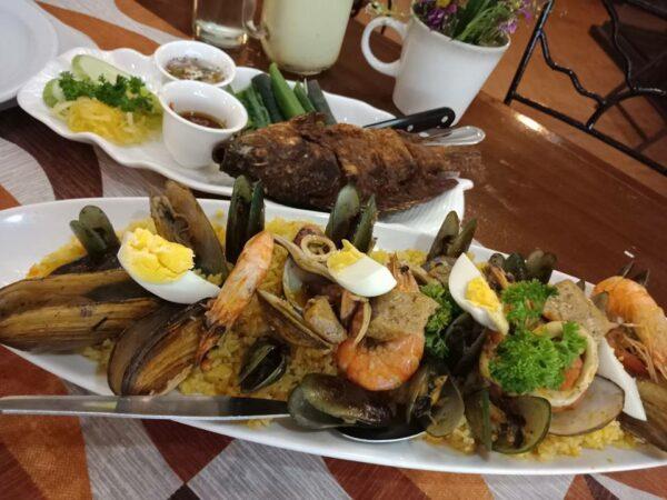 Rancheros Grill and Seafood Restaurant photo by Cj Argonitas Masocol via FB