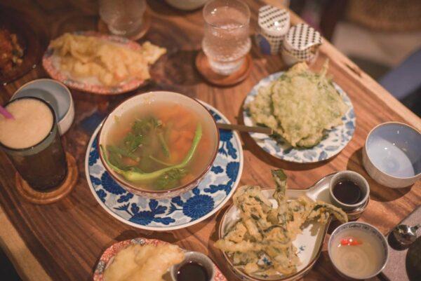 Vegan Feast at Cosmic by Keith Dador