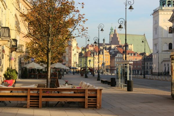Castle Square - Start of Warsaw Royal Route