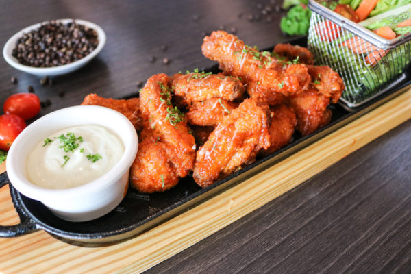 Chicken Wings at Hotel Jen Manila After-hours