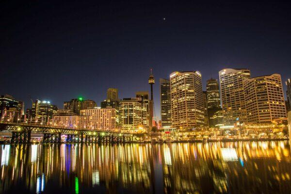 Darling Harbor in Sydney