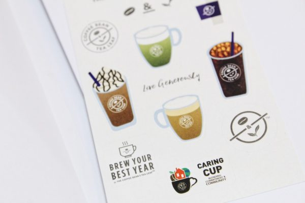 How to get a Coffee Bean and Tea Leaf 2019 Planner