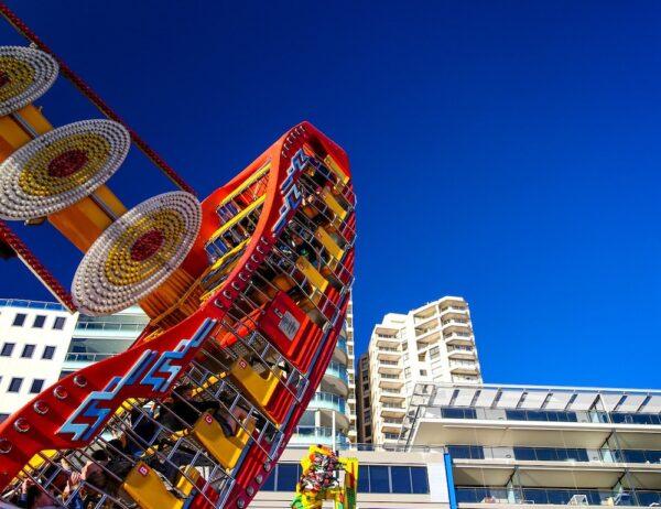 Luna Amusement Park in Sydney