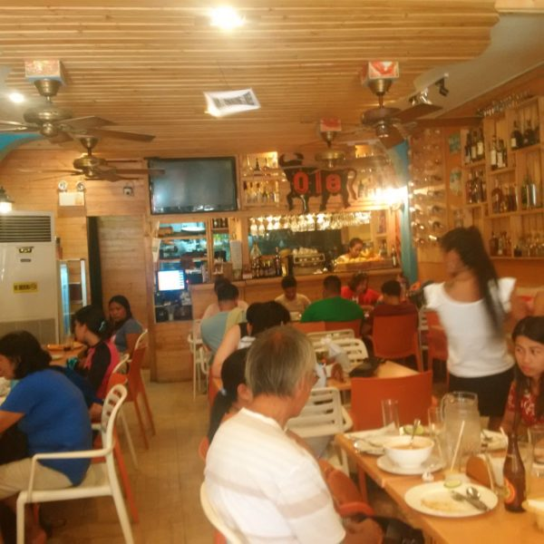 Lunch as usual at Ole Tapas Bar and Restaurant