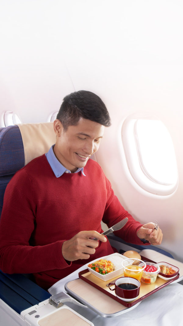 Philippine Airlines in-flight meals