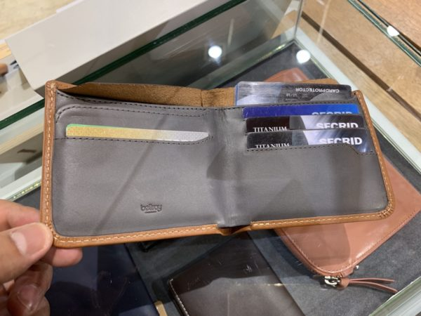 Slim RFID Leather Wallet from Bellroy