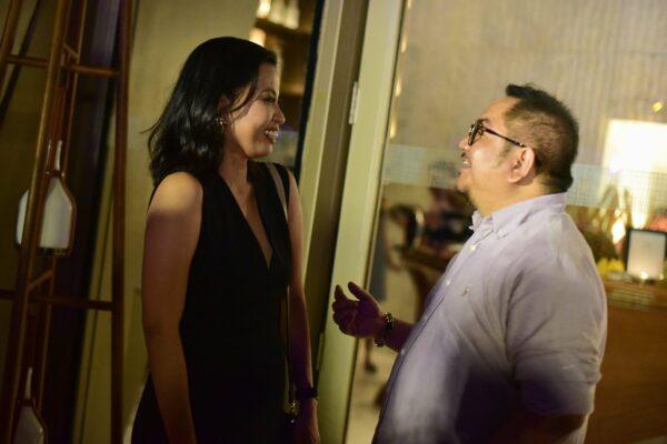 Snapshot with Karmina De Ungria - Director of Marketing Communications of Grand Hyatt Manila