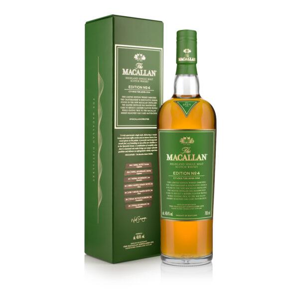 The Macallan Edition No. 4 Bottle
