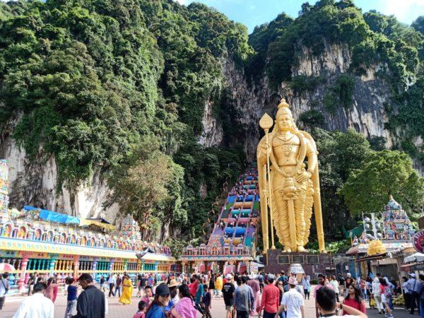 The New look of Batu Caves after the 2018 makeover